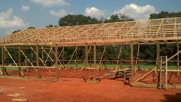 post framed buildings statesville truss components